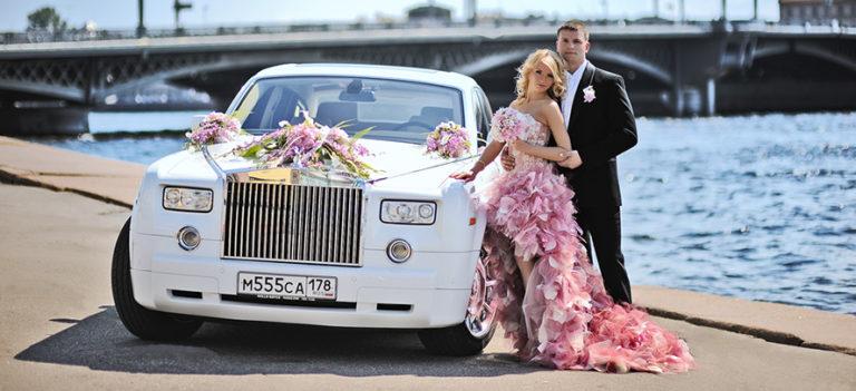 Свадьбы на роллс ройсе