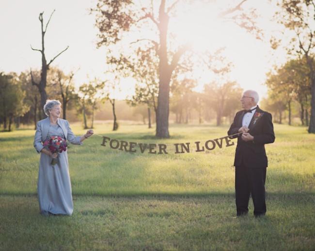 Эта пара ждала 70 лет, чтобы сделать свадебную фотосессию