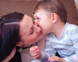 Эльвира с сыном